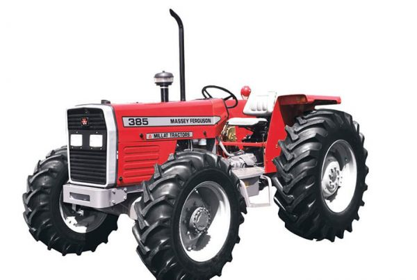 "Massey Ferguson MF 385 4WD Tractor<h5 class=""product-price""><span class=""starting-from"">Starting Price:</span><span class=""currency"">$</span>1,200,000</h5>"